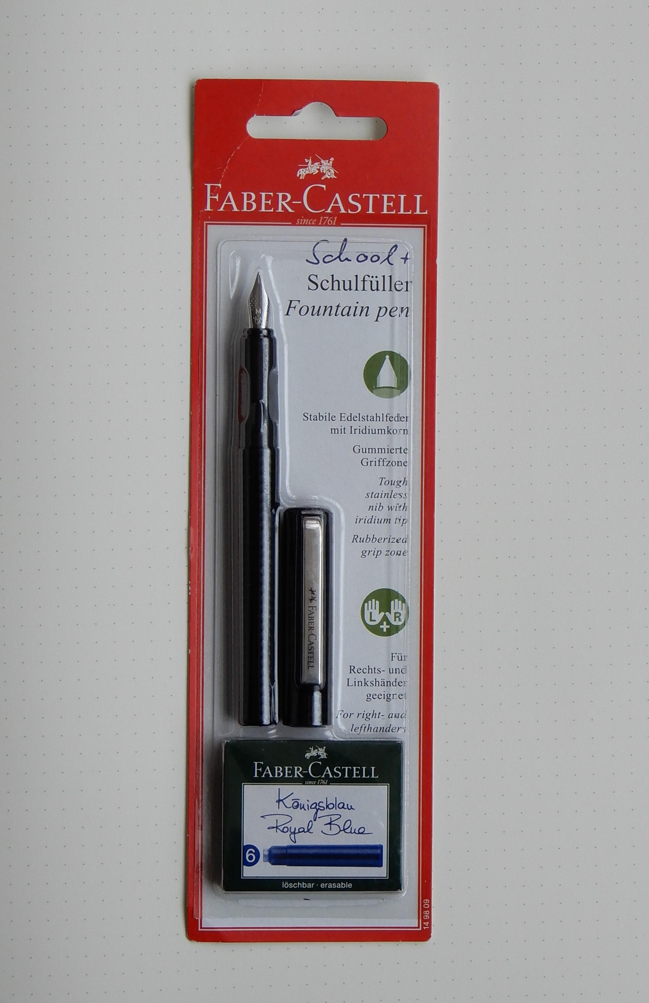 Black Faber-Castell Fresh Fountain Pen