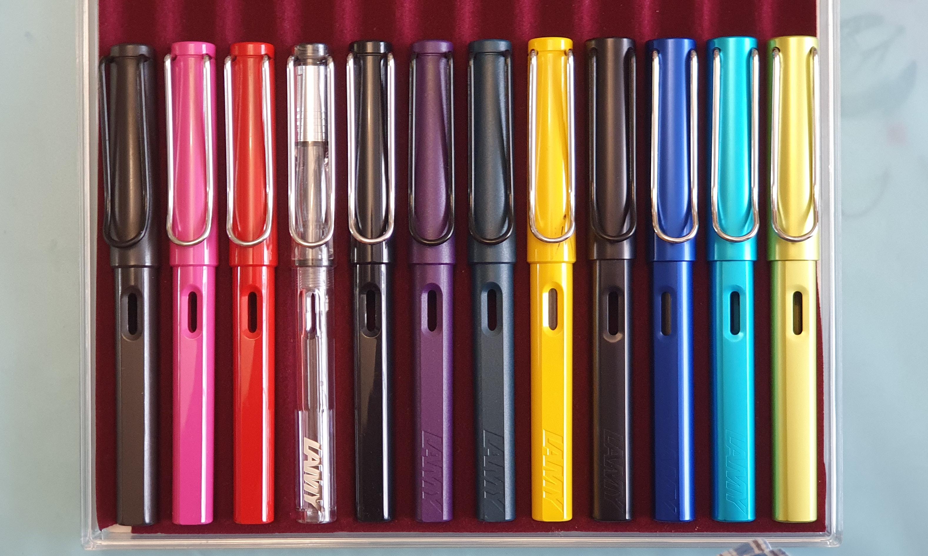 LAMY Al-star Pacific Blue Silver Clip Extra Fine Nib Fountain Pen New In Box